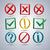 a set of information symbols vector illustration stock photo © kup1984