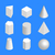 単純な · 幾何学的な · 抽象的な · オブジェクト - ストックフォト © kup1984