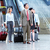 group of business people at the airport stock photo © kurhan