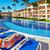 mulher · relaxante · piscina · férias · caribbean · recorrer - foto stock © Kurhan