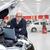 smiling car mechanic in auto repair service stock photo © kurhan