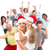 christmas people crowd with gifts stock photo © kurhan