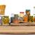 augurken · geïsoleerd · witte · voedsel · glas · eten - stockfoto © kurhan
