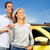 couple with a new car key stock photo © kurhan