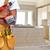 builder handyman with construction tools stock photo © kurhan