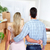 young couple in a new house stock photo © kurhan