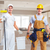 group of construction workers stock photo © kurhan