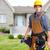constructeur · bricoleur · maison · maison - photo stock © kurhan