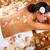 beautiful woman having massage stock photo © kurhan