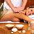 mulher · jovem · estância · termal · massagem · salão · relaxar · mão - foto stock © Kurhan
