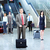 group of business people in airport stock photo © kurhan