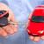 車のキー · ギフト · 手 · 赤 · 背景 - ストックフォト © kurhan