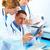 молодые · врачи · указывая · два · медицинской - Сток-фото © kurhan