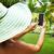 kadın · tropikal · bahçe · tatil · telefon - stok fotoğraf © Kurhan