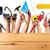 collage · bouwvakker · business · man · bouw · werk - stockfoto © kurhan