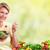 jedzenie · Sałatka · diety · odżywianie · kobieta - zdjęcia stock © Kurhan