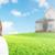 közelkép · férfi · nő · ház · kulcsok · ingatlan - stock fotó © kurhan