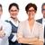 grup · iş · adamları · gözlük · göz · sağlık - stok fotoğraf © kurhan