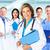 portret · medycznych · zespołu · pacjenta · starych · szpitala - zdjęcia stock © kurhan