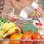 Корзина · волокно · оптика · продовольствие · торговых · красный - Сток-фото © kurhan