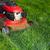 fűnyíró · vág · zöld · fű · munka · kert · tavasz - stock fotó © kurhan