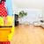 limpeza · mobiliário · esponja · jovem · feminino - foto stock © kurhan