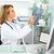 maduro · médico · mulher · raio · x · clínico - foto stock © Kurhan
