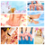 Beautiful Spa massage collage. stock photo © Kurhan