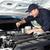 auto · meccanico · lavoro · auto · riparazione · servizio - foto d'archivio © Kurhan