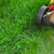 lawn mower cutting green grass stock photo © kurhan