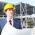 ingenieur · project · industriële · werknemer · werk · industrie - stockfoto © Kurhan