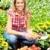 florista · de · trabajo · flores · invernadero · jardinería · personas - foto stock © kurhan