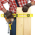 handyman hands with wood plank stock photo © kurhan