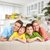 happy family in a new house stock photo © kurhan