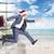 бизнесмен · Hat · прыжки · фон · календаря - Сток-фото © kurhan