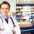 farmacêutico · químico · homem · farmácia · farmácia · retrato - foto stock © kurhan