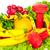 frescos · saludable · ensalada · tomates · mozzarella · cinta · métrica - foto stock © kurhan