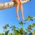 woman legs on the beach stock photo © kurhan