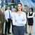 mulher · de · negócios · grupo · trabalhadores · pessoas · de · negócios · moderno · ouvir - foto stock © Kurhan