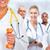 enfermeira · maçã · jovem · dia · médico - foto stock © kurhan