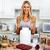 meisje · koken · glutenvrij · recept · jonge · vrouw · keuken - stockfoto © kurhan