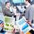 reunión · de · negocios · mano · primer · plano · escuchar · negocios - foto stock © kurhan