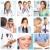 artsen · glimlachend · werk · medische · ziekenhuis · werknemer - stockfoto © Kurhan