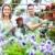 Florists couple working at flower shop. stock photo © Kurhan