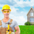 group of construction workers house renovation stock photo © kurhan