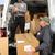 grupy · listonosz · pracowników · pracy · ciężarówka · biznesmen - zdjęcia stock © kurhan