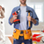 construction worker with drill and hammer stock photo © kurhan