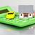 house with car and calculator stock photo © kurhan