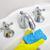 nő · házimunka · takarítás · fürdőszoba · otthon · mosdókagyló - stock fotó © kurhan