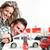 happy couple near new car stock photo © kurhan
